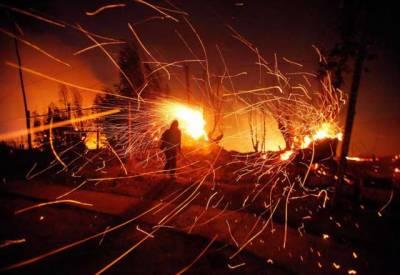 چلی کے جنگلات میں آگ لگنے سے 6 افراد ہلاک