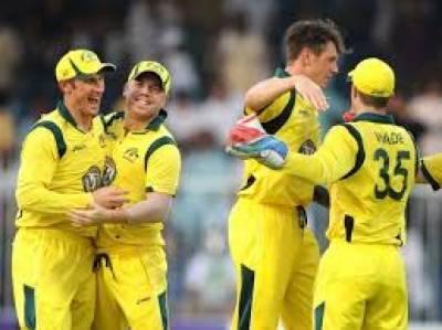 آسٹریلیا نے پاکستان کو آخری ون ڈےمیں ستاون رنز سے شکست دے کر سیریز چار ایک سے اپنے نام کرلی