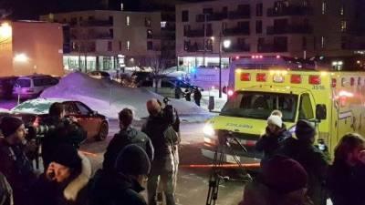 کینیڈا کے شہر کیوبیک میں مسلح افراد کی مسجد میں فائرنگ کے نتیجے میں چھے نمازی شہید جبکہ آٹھ زخمی ہو گئے