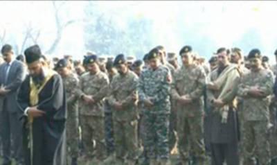خیبر ایجنسی میں دہشت گردوں کی فائرنگ سے زخمی پاک فوج کا سپاہی وقاص شہید ہو گیا