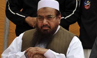 امیر جماعت الدعوۃ حافظ محمد سعید کو لاہور میں نظر بند کر دیا گیا