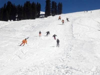 مالم جبہ میں الپائن اِسکِی کلب کی جانب سے پہلے بین الاقوامی اسکیٹنگ مقابلے اختتام پذیر ہوگئے ہیں