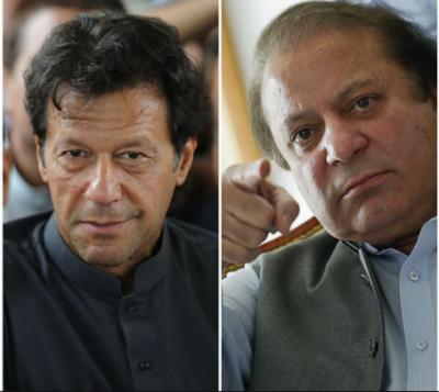 وزیراعظم نواز شریف مقبولیت میں پھر بازی لے گئے جبکہ عمران خان ان سے تھوڑا سا پیچھے ہیں،