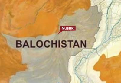 نوشکی: باراتیوں کی لاپتہ 8 بسیں بٹی کے مقام پرکیچڑ میں پھنسی مل گئیں۔