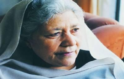 معروف ناول نگارومصنفہ بانوقدسیہ کو لاہور میں سپرد خاک کر دیا گیا