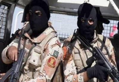 کراچی: رینجرز کی مختلف علاقوں میں کارروائیاں،6 ملزمان گرفتار،اسلحہ برآمد