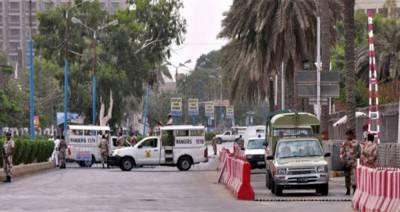 پاکستان کے تمام صوبوں کی مختلف يونيورسٹي طلبا کا نے رينجرز سندھ ہيڈکوارٹر کا دورہ کیا