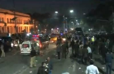 لاہور میں دھماکہ، پنجاب حکومت کے اعلان پر آج ایک روزہ سوگ منایا جائے گا