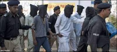 سرچ آپریشن: ساٹھ سے زائد مشتبہ افراد کو گرفتار