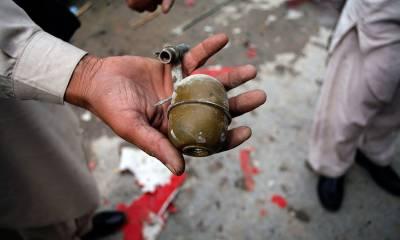 حیدرآباد میں نیا پُل کے قریب دستی بم حملے میں پندرہ افراد زخمی ہو گئے