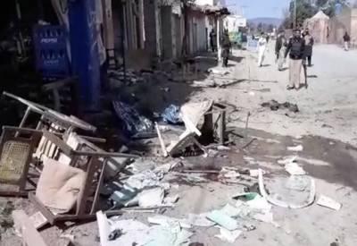 دہشتگردوں کی چار سدہ میں ایک اورگھناؤنی کارروائی، خود کش حملےمیں 7 افراد جاں بحق،20 زخمی۔