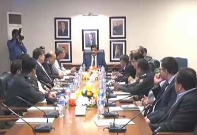 وزیراعلیٰ سندھ کا سندھ وبلوچستان سرحد سے ملحقہ علاقوں میں آپریشن تیز کرنے کا حکم