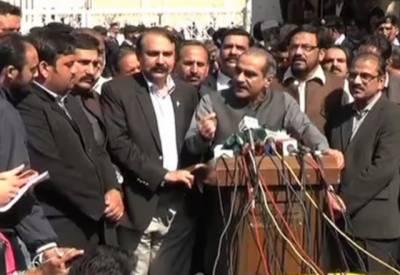 ہمارا میڈیا ٹرائل عمران خان ،شیخ رشید اورسراج الحق کرتے ہیں۔ سعد رفیق