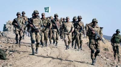 پاک فوج نے دہشت گردی کو جڑ سے اکھاڑنے کے لیے آپریشن
