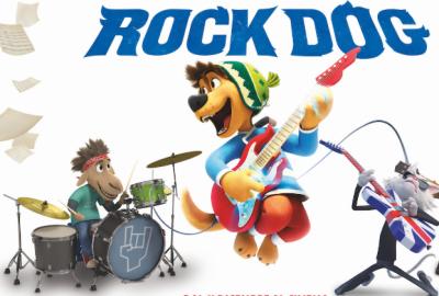 موسیقار بننے کے شوقین کتے سے متعلق ہالی ووڈ کی تھری ڈی فلم راک ڈاگ آج ریلیز ہو رہی ہے۔
