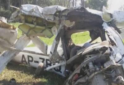 فیصل آباد میں تربیتی طیارہ گرگیا، پائلٹ اور انسٹرکٹر جاں بحق۔