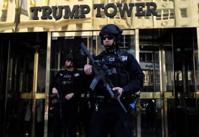 ٹرمپ ٹاور کی حفاظت پر 24 ملین ڈالر کی خطیر رقم خرچ
