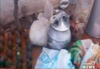 پشاور پولیس نے دو مختلف کارروائیوں میں دہشت گردی کے منصوبے ناکام بنا دیئے