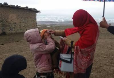 انسداد پولیو: بلوچستان کے 11اضلاع میں الیکٹرانک ویکسی نیشن کا فیصلہ
