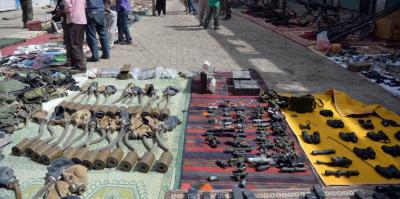 شمالی وزیرستان میں کارروائی کے دوران بھاری مقدار میں اسلحہ اور گولہ بارود برآمد کرلیا،