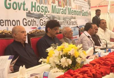 وزیر اعلیٰ سندھ نے بیٹا ہونے کا حق ادا کردیا۔