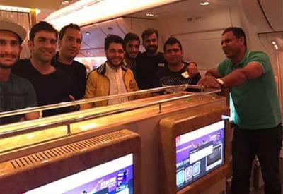 پاکستان سپر لیگ کا فائنل کھیلنے کیلئے پشاور زلمی کے کھلاڑی لاہور پہنچ گئے۔