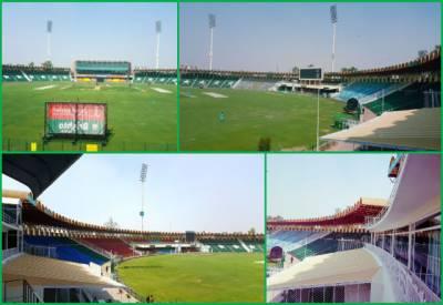 قذافی سٹیڈیم لاہور:محفل جمے گی، سیٹی بجےگی،سٹیج سجےگا،پھرتالیوں کی گونج میں کھیل جمےگا۔