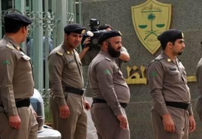 سعودی پولیس نے اپنے افسر پر حملہ میں ملوث 7میں سے 6مشتبہ افراد کو گرفتارکرلیا۔