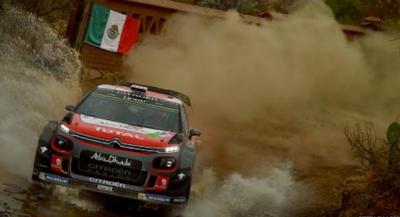 برطانوی ڈرائیور کرس میکی کی ڈبلیو آر سی میکسیکو کار ریلی میں برتری برقرار...