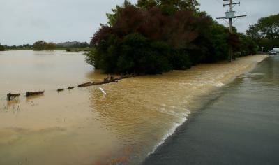 نیوزی لینڈ میں طوفانی بارشوں نے نظام زندگی درہم برہم کرکے رکھ دیا