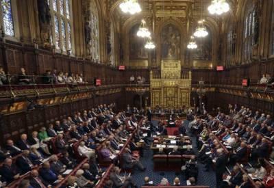 برطانوی ہاوس آف لارڈز نے یورپی یونین سے علیحدگی کا بل منظورکر لیا۔