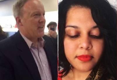 بھارتی نژاد خاتون نے امریکیوں کی طرف سے انٹرنیٹ پر ہراساں کرنے کا غصہ ٹرمپ کے ترجمان پر نکال دیا۔