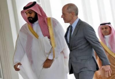 سعودی نائب ولی عہد شہزادہ محمد بن سلمان امریکی صدر ٹرمپ سے ملاقات کے لیے واشنگٹن پہنچ گئے۔