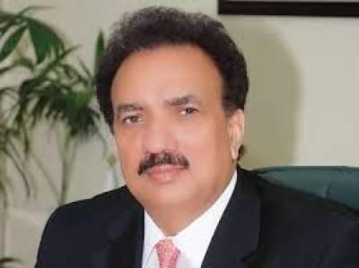 رحمان ملک نے حسین حقانی کے بیانات اور کلبھوشن یادیو کے معاملے پر تحقیقاتی کمیشن بنانے کا مطالبہ کردیا