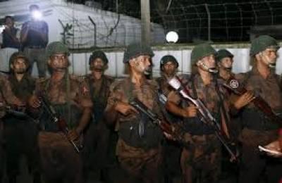 بنگلہ دیش کے شہر چٹاگانگ کے نواحی علاقے سیتا کونڈا میں سیکیورٹی فورسزسے مقابلے میں خاتون سمیت 4 شدت پسند ہلاک ہوگئے