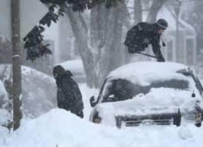 امریکی ریاست نیویارک اور واشنگٹن سمیت متعدد ریاستوں نے برف کی چادر اوڑھ لی
