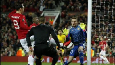 یوئیفا یورپا لیگ میں انگلش فٹ بال کلب مانچسٹر یونائیٹڈ نےروسٹووکوصفرکےمقابلےمیں ایک گول سےشکست دیکرکوارٹر فائنل کےلیےکوالیفائی کرلیا