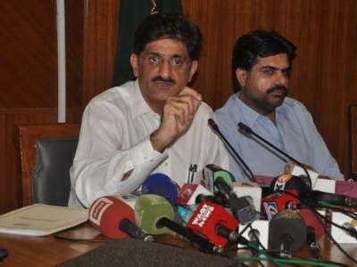 وفاق نے سندھ میں پانی کا مسئلہ پیدا کر دیا،صوبے کے لیے پانی کا پچاس فیصد کوٹہ کم کیا گیا,وزیراعلی سندھ مراد علی شاہ