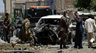 افغان صوبے ہلمند میں ایک خود کش کار بم حملے میں انٹیلی جنس سروس کے چھ اہلکار مارے گئے