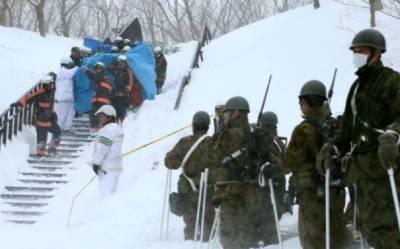 جاپان کے علاقے ٹوچیگی کے سیاحتی مقام میں برفانی تودہ گرنے سے چھ طلبا کے ہلاک ہونے کا خدشہ ہے جبکہ پانچ سے زائد طلباء زخمی