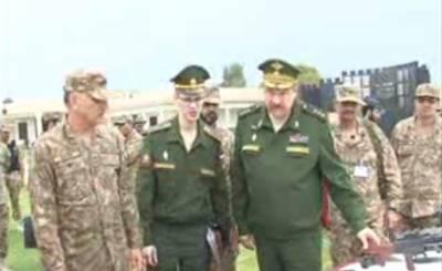 روسی فوجی وفد نے شمالی وزیرستان میں میرانشاہ کا دورہ کیا