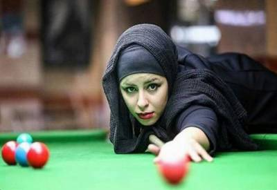 ایران نے خواتین بلیئرڈ کھلاڑیوں پر پابندی عائد کردی۔
