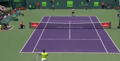 سوئس ٹینس سٹار راجر فیڈرر اور سپین کے رافیل نڈال نے میامی اوپن ٹینس ٹورنامنٹ کے فائنل میں رسائی حاصل کر لی