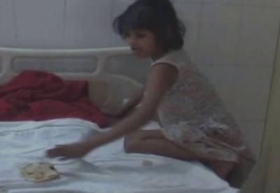 جنگل میں بندروں کے ساتھ رہنے والی 8 سالہ لڑکی بازیاب