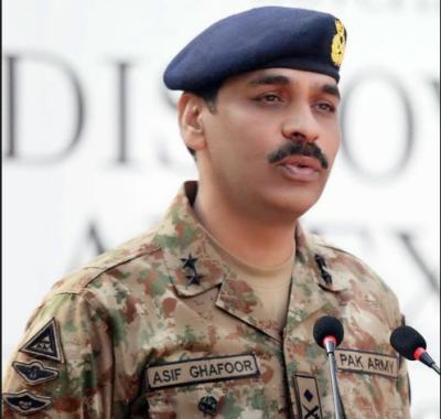 میجر جنرل آصف غفور نے کہا ہے کہ پانامہ پر پوچھے گئے سوال کے جواب کو سیاق و سباق کے بغیر رپورٹ کیا گیا،،
