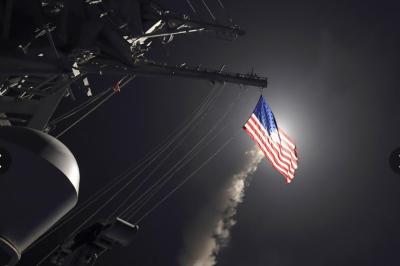 امریکا کی جانب سے شام میں حملوں کے بعد صورتحال سنگین ہوتی جارہی ہے،