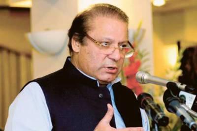 سندھ حکومت نے عوام کی امیدوں پر پانی پھیردیا، وزیراعظم نوازشریف