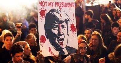 امریکی صدر ڈونلڈ ٹرمپ کے خلاف مظاہروں کا سلسلہ شروع
