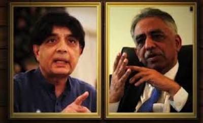 سندھ حکومت کیجانب سے رینجرز کے اختیارات کی مدت میں توسیع نہ کرنے سے کراچی میں امن وامان کا مسئلہ ہوسکتا ہے,وفاقی وزیر داخلہ چوہدری نثار علی خان
