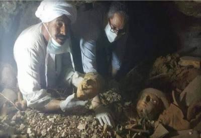 مصر میں ایک ہزار قدیم مجسموں کی دریافت